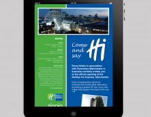 Holiday Inn HTML email design