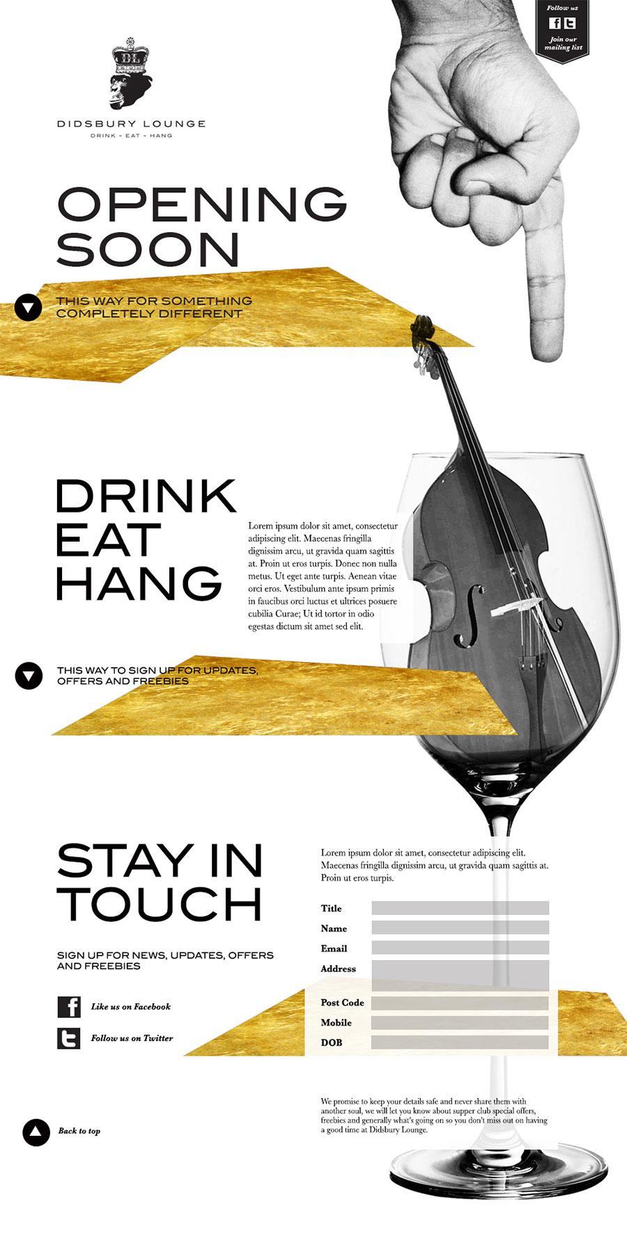 Bar designers manchster