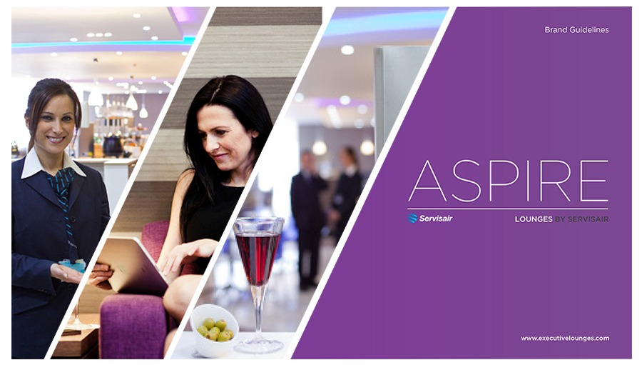 Aspire by Servisair Brand Book Design