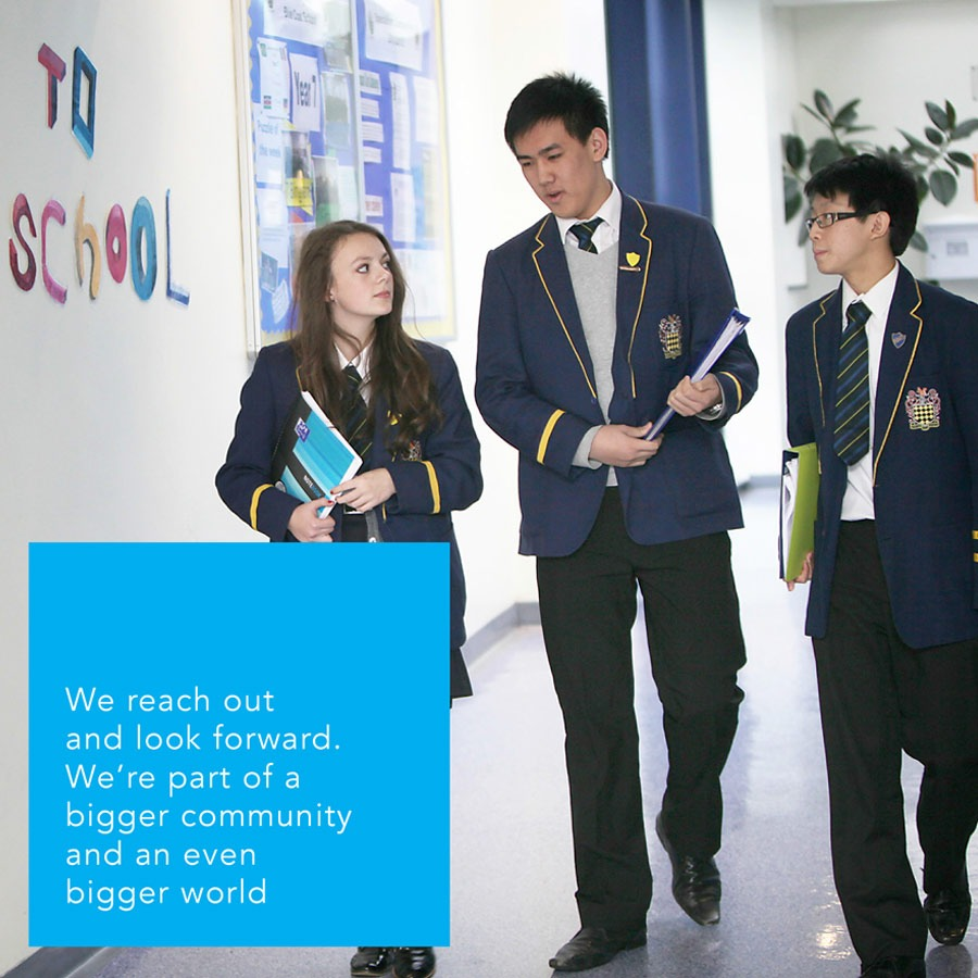 Blue Coat School Liverpool Visual Identity