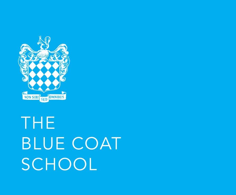 Blue Coat School Liverpool Logo Design