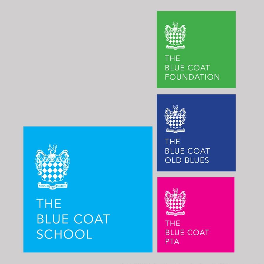 Blue Coat School Liverpool Logos