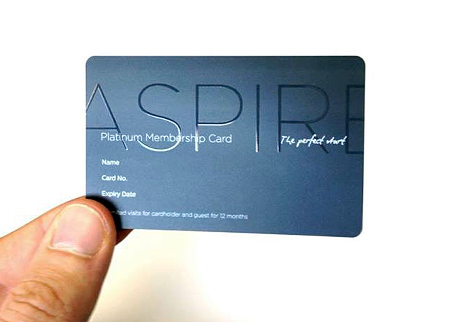 Aspire by Servisair Loyalty Card Design