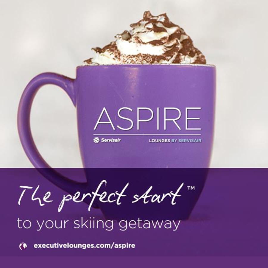 Aspire by Servisair Social Media Design