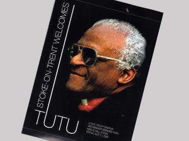 Desmond Tutu Brochure Design